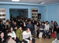 Poet George Kekelidze delivers lectures in  EEU